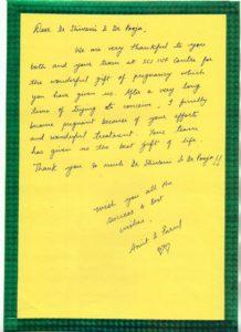 Thankyou Message to Dr. Shivani Gour & Dr. Pooja